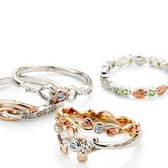 Stack like there's no tomorrow! Two rings, spend £199 and receive a free ‪#‎Celebration‬ ring!