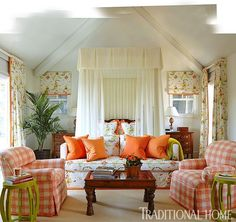 Eye For Design: Decorate With A Seating Area At The Foot Of The Bed