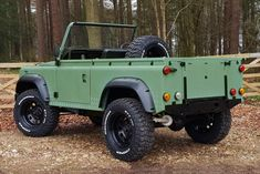 This Ex-Military Land Rover Defender Pickup Could Be Yours Land Rover Defender Pickup, Land Defender, Jeep Cars, Jeep 4x4, Land Rover 88, Lander Rover, Beach Cars, Off Road, Jeep Models