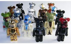 Star Wars Be@rbrick figures. So obsessed with these!