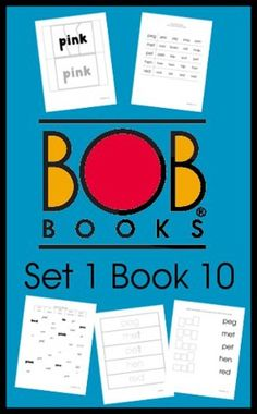 BOB Books Set 1 Book 10 Free Printables