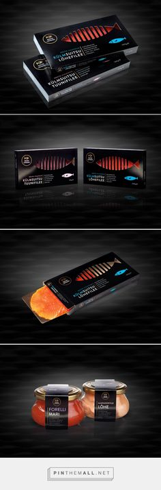 Peetri Lõheäri ‪#‎Fish‬ ‪#‎Packaging‬ designed by Koor - http://www.packagingoftheworld.com/2015/04/peetri-loheari-fish-packaging.html
