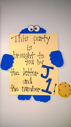 Party sign (adapted)