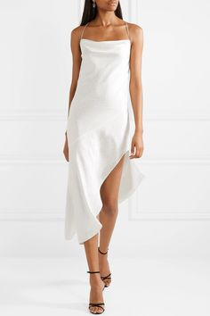 fe0a1316155e 32 Best Silk midi dress images in 2019   Dress skirt, Cute dresses ...