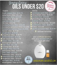 Last Minute Holiday Gifts for Under $20 with Young Living! www.momsanoilitall.com
