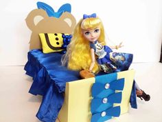 How To Make a Blondie Lockes Doll Bed Tutorial