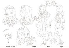 HILL CLIMB GIRL - 日本アニメ(ーター)見本市 / みき 線画 / #米山舞