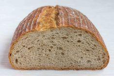 Kváskový chlieb pšenično-ražný - My site Bread Bun, Quick Meals, Bread Recipes, Veggies, Food And Drink, Snacks, Health, Breads, Diet