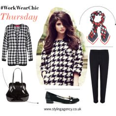 The Styling Agency  - What to wear to work?  #WorkWear #workwear #stylestaples #styleessential #topsets #GetTheLook #getthelook #sets #dogtoothpattern