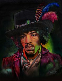 Although your world wonders me, with your majestic and superior cackling hen, Your people I do not understand, so to you I shall put an end. And you'll never hear surf music again. ― Jimi Hendrix 1942-1970. Jimi portrait by choffman36 on DeviantArt. #JimiHendrix #music #rock