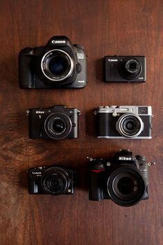 A pro photographer puts seven cameras to work to choose the best