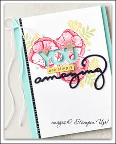Stampin' Up! Amazing you 2018 sale-a-bration