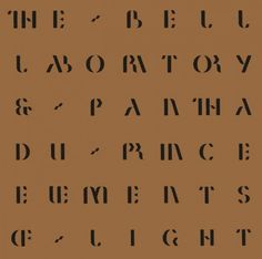 Pantha Du Prince And The Bell Laboratory - Elements Of Light