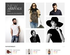 """Check out new work on my @Behance portfolio: """"Zackas - eCommerce Fashion Template"""" http://be.net/gallery/41680911/Zackas-eCommerce-Fashion-Template"""