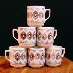 Porcelain, Mugs, Tableware, Porcelain Ceramics, Dinnerware, Cups, Mug, Dishes, Place Settings