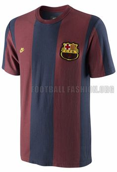 FC Barcelona Nike Covert Vintage 73 Throwback Shirt