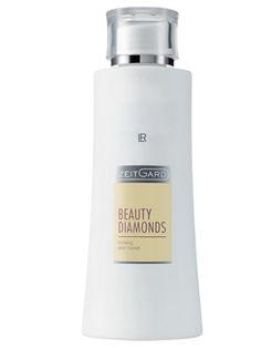 Zeitgard Beauty Diamonds Ansiktsvatten.  Naturliga, verksamma ämnen från havs- och växtriket bidrar till en långvarig återfuktning av huden. Huden känns avslappnad och därmed synbart slätare. Sprayon, utan alkohol. Innehåller ett ämneskomplex som har en åtstramande effekt på huden.