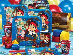 Jake and the Never Land Pirates Birthday Party Pack