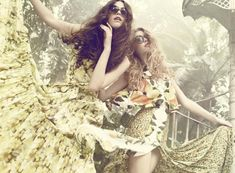 Julie Rode by Signe Vilstrup for Elle Denmark - love seeing movement and signs of life in editorials!