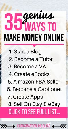 Want to make money online in 2018? This post will show you 35 ways that you can work from home and make extra income from the comfort of your home| make money online| make money online fast| passive income| internet marketing| work from home jobs| work from home and get paid #workfromhome #makemoneyonline #blogging #affiliatemarketing