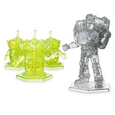 Buzz Lightyear and Aliens 3D Crystal Puzzle Set by BePuzzled
