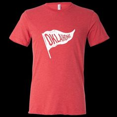 Oklahoma Vintage State Flag T-Shirt