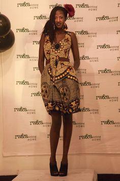 Model Ariane in RWANDA CLOTHING