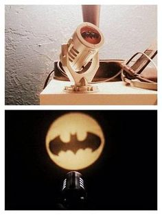 Batman is just sitting at home at night. He has no idea the city needs him. Until they fire up the Bat-Signal, that is. Well, now you can summon Batman with your own mini Bat-Signal. Plus, you get a little book with Bat Info. YAY.