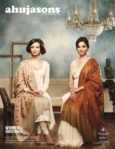 The look on the left has me written all over it. Still one of my favorite sarwal kameez looks up to date.