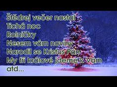 Nejhezčí české VÁNOČNÍ PÍSNIČKY & KOLEDY - YouTube Karel Gott, Youtube, Songs, Advent, Christmas, Christmas Music, Music, Xmas, Weihnachten