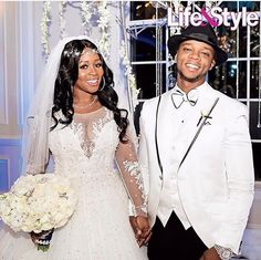 On Thursday, Dec Love & Hip Hop New York's favorite rap couple, Remy Ma and Papoose, tied the knot (again) in an over-the-top celebrity-studded Black Celebrity Couples, Black Couples, Couples In Love, Love And Hip, Love N Hip Hop, Wedding Pics, Trendy Wedding, Wedding Dresses, Wedding Ideas