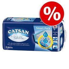 Catsan Smart Pack, mata ze żwirkiem w super cenie!