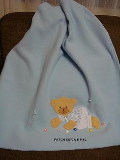Manta de soft para bebê | por PATCH E CIA - Sofia e Mel