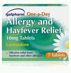 Galpharm Allergy and Hayfever Non Drowsy Relief Loratadine 10mg - 7 Tablets