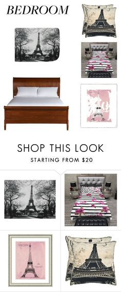 """""""Paris Themed Bedroom"""" by zoellabae on Polyvore featuring interior, interiors, interior design, home, home decor, interior decorating, Vintage Print Gallery, Safavieh, Ethan Allen and bedroom"""