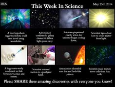 This week in science, May 25, 2014
