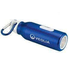 Promotional Flow Carabiner Flashlight Flashlights Bottle Water Bottle