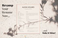 R23-Alexia Holmes-13 Microsoft Word Resume Template, Simple Resume Template, Creative Resume Templates, Cv Template, Simple Cover Letter, Cover Letter Format, Cover Letter Template, Resume Cover Letter Examples, Resume Objective Examples