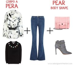 How to wear the faux fur for the pear body shape  #pearbody #JBrand #Valentino #ProenzaSchouler #MissSelfridge