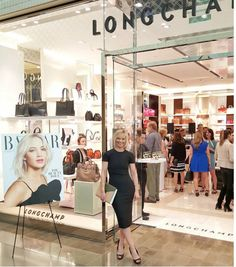 We're celebrating the grand opening of longchamp with harpersbazaarus Fashion & Beauty Editor avril_graham! #longchamp   #ss16   #celebrity  Longchamp S... - LongChamp Sale - Google+