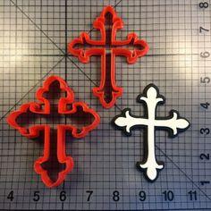 Cross 106 Cookie Cutter Set