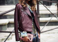 Cute burgundi jacket