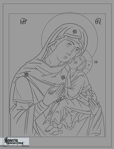 Образ Божией Матери «Сладкое Лобзание»