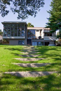 Lower Mystic Lake House - contemporary - landscape - boston - Matthew Cunningham Landscape Design LLC
