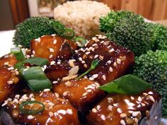 "The ""V"" Word: Sesame Tofu"