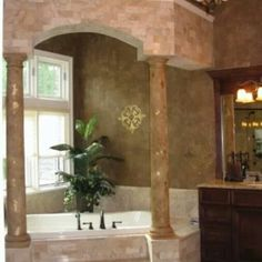 Cassy Wedell    #faux Extraordinary Wall Designs