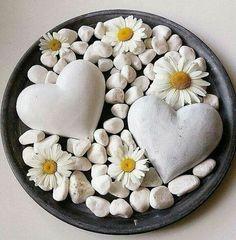 Simple Flowers, Love Flowers, Beautiful Flowers, I Love Heart, Happy Heart, Daisy Love, Daisy Art, Heart Images, Heart Art