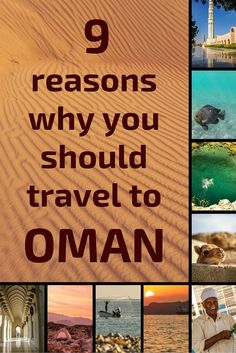 Why should you go to Oman? Well, their Tourism Board says this is where 'Beauty has an address' and they are not wrong. Discover in photos and videos 9 reasons why you should add Oman to your Travel Bucket list...