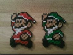Mario and Luigi Santas by rentintent on deviantART