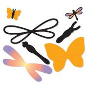 sizzix paper sculpting butterfly & dragonfly